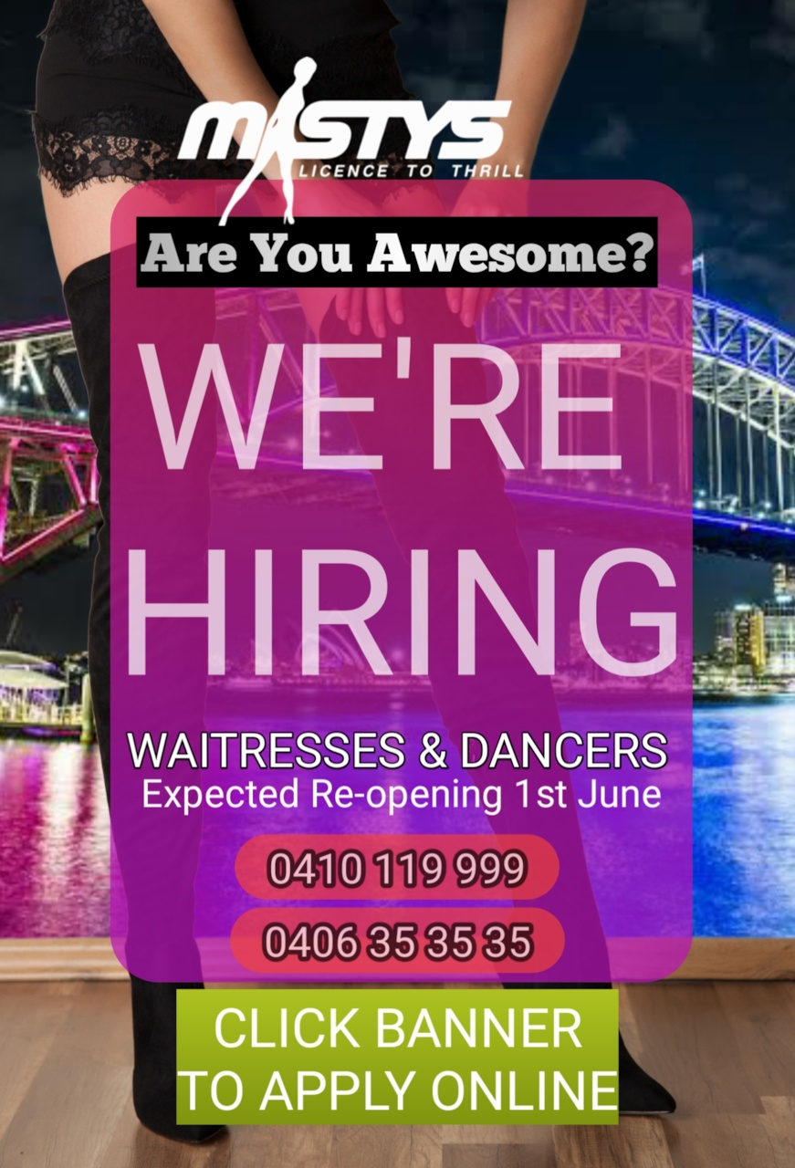 MISTYS Entertainment Job Vacancies Register Now