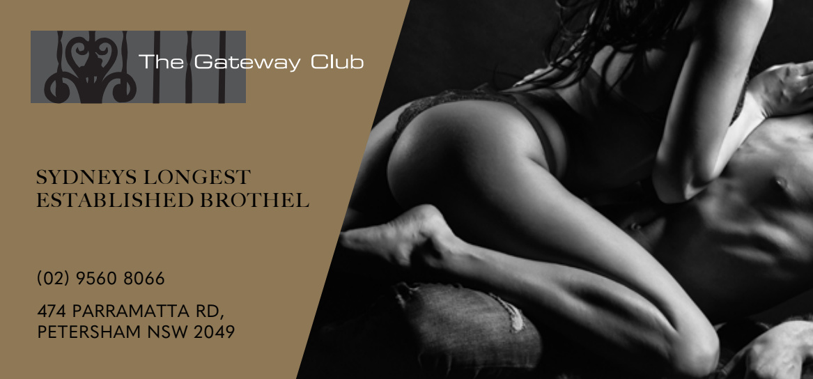 ADULT JOBS at Gateway club Sydneys longest established brothel offers high paying adult jobs in petersham sydney nsw