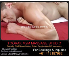 Toorak M2M Massage Studio For Aussie Men